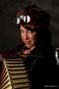 Steampunk Accordian Player