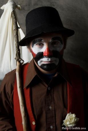 Clown hobo.