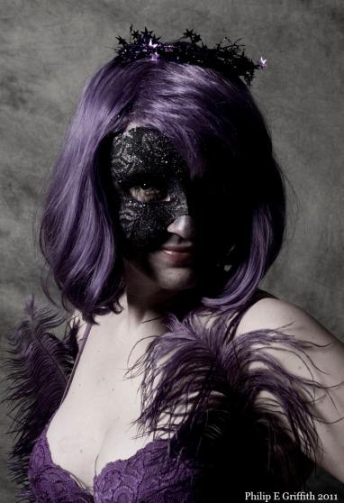 Jen West in Purple.